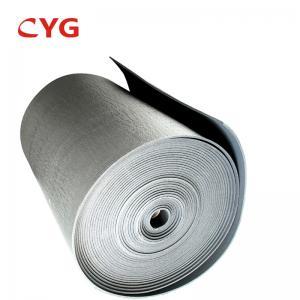 B1 Grade Flammability HVAC Insulation Foam Closed Cell Aluminum Foil Laminated Roll Manufactures