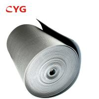 Quality B1 Grade Flammability HVAC Insulation Foam Closed Cell Aluminum Foil Laminated Roll for sale