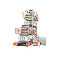 PE film Rotary Die head 3 Layer Blown Film Line 15kw 380V Manufactures