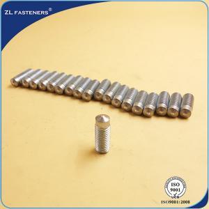 DA - RD , DA - PD Drawn Arc Weld Studs Zinc Plated / Copper Plated Finish Manufactures