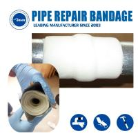 Epoxy tape bandage strong fiber glass repair tape for gas and water pipe leak crack Manufactures