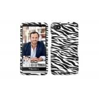 Waterproof PC Phone Cases Hard Cover For Blackberry Z30 , Black White Zebra Manufactures