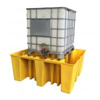Large Capacity Safety Spill Pallet , PE Spill Containments For IBC Tank Storage Manufactures