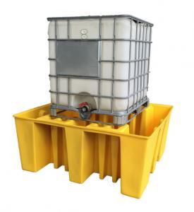 Quality IBC Tank Storage Safety Spill Pallet, PE Spill Containments For IBC Tank Storage for sale