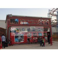 Amusement 5D Movie Theater With Playground Equipment In Libya Manufactures