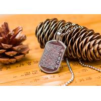 Stainless Steel Vintage Buddhist Religious Jewelry Pendant Necklace Fashion Style Manufactures