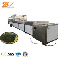 Tunnel Type Industrial Microwave Drying Machine Moringa Leaves Sterilization Machine Manufactures