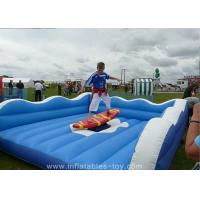 Children Inflatable Sports Games Mechanical Surf Simulator For Advertising Manufactures