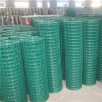 High Quality welded wire mesh PVC coated in roll Manufactures