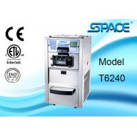 Europe Style Automatic Soft Serve Ice Cream Machine Stainless Steel Material Manufactures