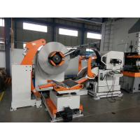 1300 Mm Width 3 In 1 Medium Coil Feeder Machine Cooperated With Punching Manufactures