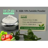 Power Plant Growth Regulator , Plant Growth Inhibitors S - ABA CAS NO 21293-29-8 Manufactures
