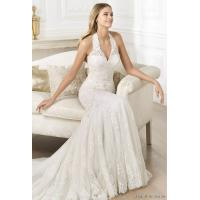white cotton Pretty Ladies Wedding Dresses for yong girl Manufactures
