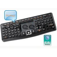 2.4G Ultra Mini Backlit Wireless Keyboard with DPI Adjustable Touchpad -ZW-51007(MWK03) Manufactures