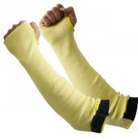 China Yellow Color Anti Cut Gloves Level 5 No Irritation By Seams In Contact With Skin on sale