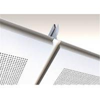 White Suspended Ceiling Tiles Heat Insulation For Office Building Manufactures