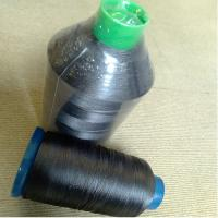 China Low Smoke Flame Retardant Polyester Thread Yarn For Textile Factory on sale