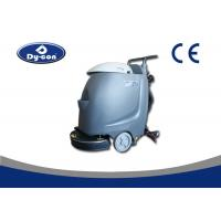 Commercial Compact Nimble Floor Scrubber Machine Hand Push With Current Lead Manufactures