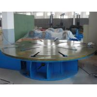 Steel Automatic Welding Machine Max Loading 5 Tons Horizontal Rotary Table Floor Turning Table Manufactures