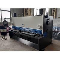 Guillotine Shear Hydraulic Metal Sheet Cutting Machine With Delem For Mild Steel Manufactures
