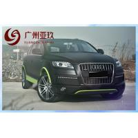 China Derek PVC Matte Black Vinyl Car Wrap With Air Release Channels 1.52*30m on sale