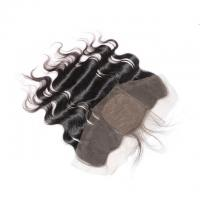 Peruvian Body Wave 13x4 Lace Closure , Silk Base Lace Frontal Closure With Baby Hair Manufactures