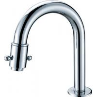 Polished Chrome Kitchen Sink Water Faucet Ceramic with Rotated Switch HN-5C24 Manufactures