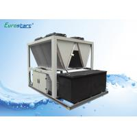 High EER R407C Air Screw Industrial Water Chiller For Grinder Industry Manufactures