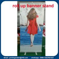Aluminum Pull Up Trade Show Banner Manufactures