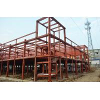 Clear Span Prefabricated Industrial Buildings Galvanized Insulation Energy Saving Manufactures