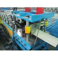 0.3-0.8mm Pre-painted Steel Ridge Capping Roof Panel Roll Forming Machine High Speed 5-10m/min Manufactures