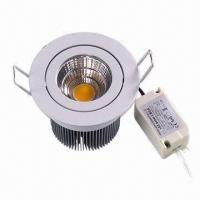 LED Recessed Light, 5W Power, 322lm Luminous Flux, 100 to 240V AC Input Voltage, >0.95 Power Factor Manufactures