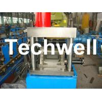 U Shaped Channel Purlin Roll Forming Machine With 1.5 - 3.0mm Thickness TW-U100 Manufactures