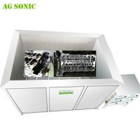 Automotive Ultrasonic Cleaners for Engine Cylinder Heads Coolers Carburetor Cleaning SUS316L Manufactures