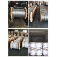 9 32 Inch Galvanized Steel Messenger Cable Spring Steel Wire 900-1720 Mpa Tensile Strength Manufactures