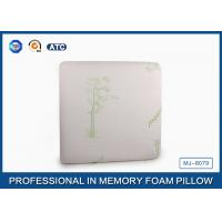 Square Traditional Sleep Design Memory Foam Pillow For Bedding Home Decor Manufactures