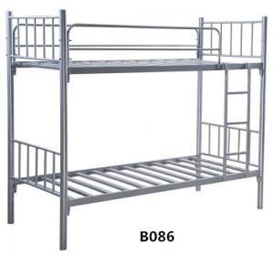 China School Dormitory Sturdy Steel Bunk Beds With Desk Locker on sale