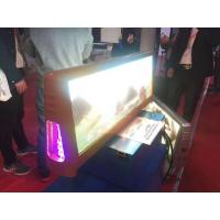 Die Casting Taxi Led Display Cabinet 4G 3G GPS Location Program Functions Manufactures