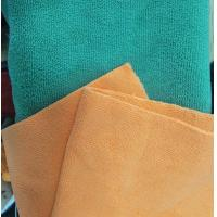 Microfiber Green 160cm Width 300gsm Super Absorbent Cleaning Terry Fabric Manufactures