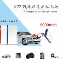 Hot selling 12V Multifunction Car Jump Starter 6000mah car battery charger Manufactures