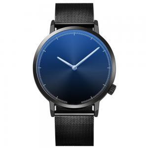 Alloy Quartz Wrist Watch, Customized design Mesh strap wrist watches for Men Stainless Steel Minimalist Wristwatch Manufactures