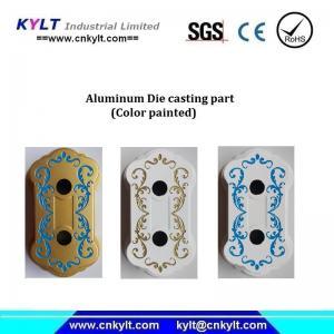Mulit Colors Painted Aluminum Alloy Casting Part Manufactures