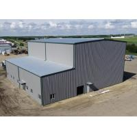 Prefabricated Steel Structure Workshop And Warehouse With High / Low Span Manufactures
