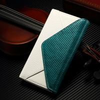 Envelope Style IPhone Leather Wallet Case Soft Contrast Color For Iphone 7 Manufactures