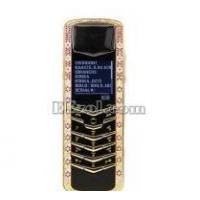 Luxury Signature Diamonds Rose Gold Pink Sapphires Mobile Phone Manufactures