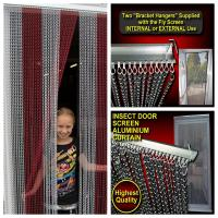 China Highest Quality Aluminum Chains Insect & Fly Screen on sale