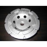 Hot sales different sizes double row segment cup grinding wheels Manufactures