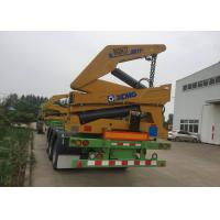 China Normal Suspension Truck Mounted Crane With 3 Axles 40 Feet Container on sale