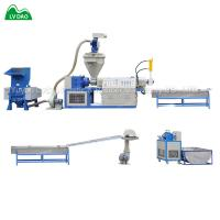 China Automatic crushing PP PE wasted plastic recycling machine on sale