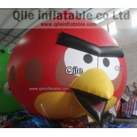 red inflatable Angry birds cartoon shape,advertising inflatables for Angry birds balloon Manufactures